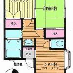 田奈賃貸アパート「ハイツしいの木Ⅱ」